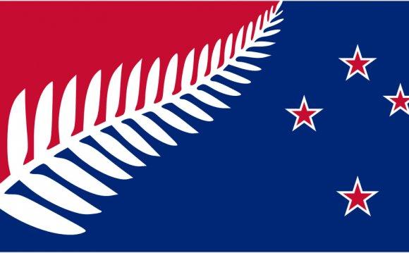 Новый Флаг Новой Зеландии