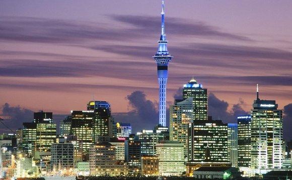 город Новой Зеландии