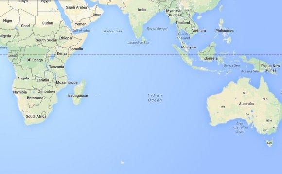 Новой Зеландии находится