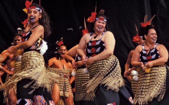маори, коренной народ Новой