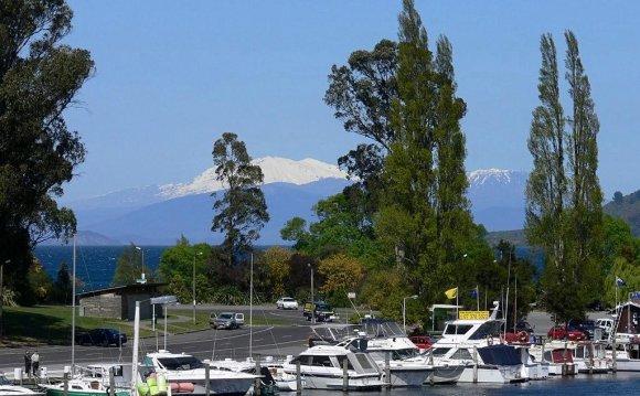 новая зеландия озеро таупо