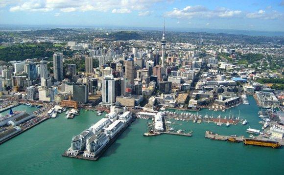 Город-порт Окленд (Auckland)