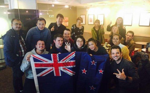 студентов в Новой Зеландии