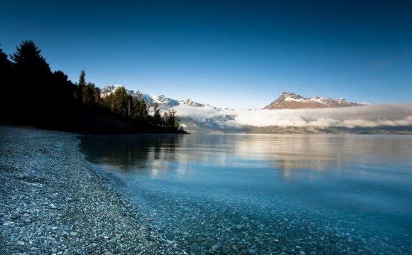 Фото пейзажа в Новой Зеландии