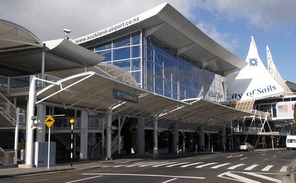 международный аэропорт Окленда