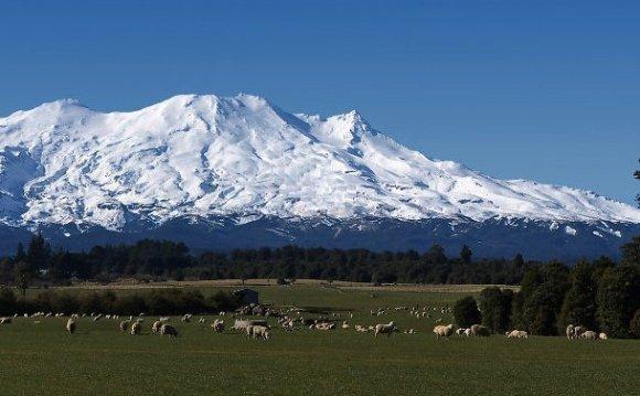 Mt Ruapehu Вулкан Руапеху